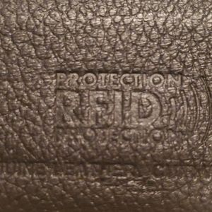 RFID Protection Leather Card Holder